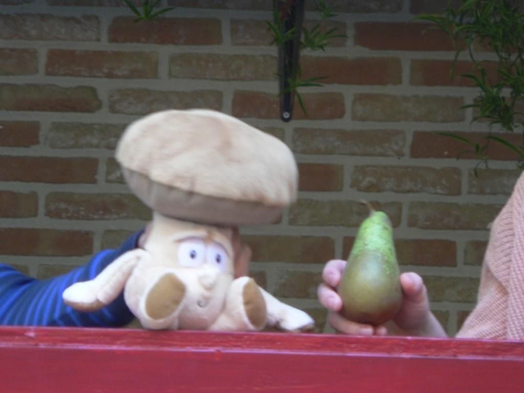 De Kleuters maken zelf een fruit- en groentewinkel. - P1260555.JPG