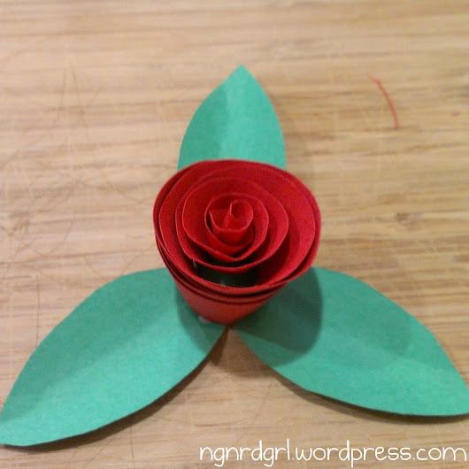 Spiral Rose Flower