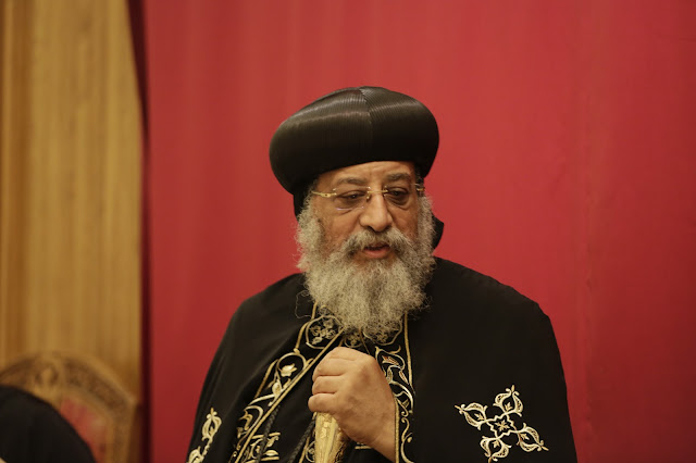 His Holiness Pope Tawadros II visit to St. Mark LA - _09A9072.JPG