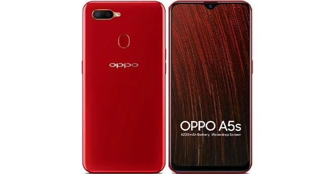 Oppo a5 2020 diluncurkan di jakarta, selasa (17/9/2019). OPPO A5s Harga Agustus 2020 dan Spesifikasi Indonesia - Gsmku.id
