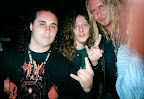 With Mick & Schmier, DESTRUCTION, German thrash metal titans