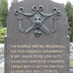 Cimetière de Belleville : tombe CONY Gaston (1891-1983), marionnettiste français