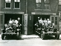 Firetruck photo historical Morristown