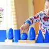 Montessori Geometric Solids as a Sensorial Material