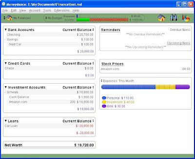 replacing microsoft money part 4 moneydance