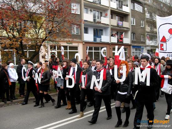 gdańskie liceum conradinum na paradzie niepodległości