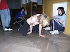 o přestávkách nás Jarda učil breakdance
