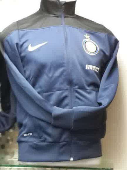 Jual Jaket Training Inter Milan Warna Hitam Biru