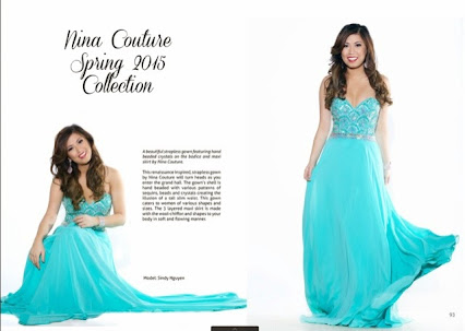 look book from nina couture dresses for grade 8 graduation prom ...