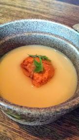 Nodoguro Pop-up Course 1: Sea urchin chawan mushi