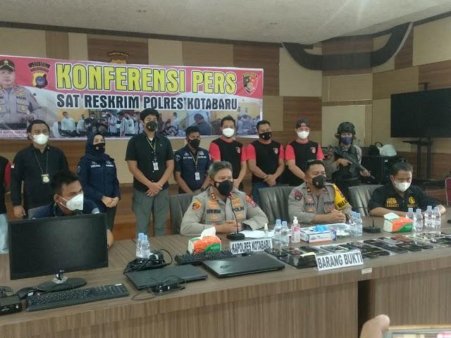 Resahkan Warga, Kantor Pinjol Ilegal di Kotabaru Digeledah Polisi