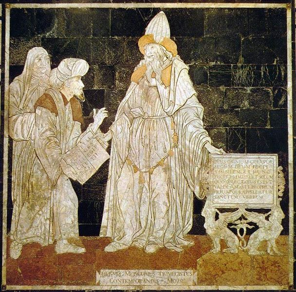 Hermes Trismegistus In The Cathedral Of Siena, Egyptian Magic