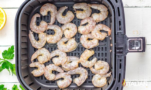 air fried shrimp in the air fryer