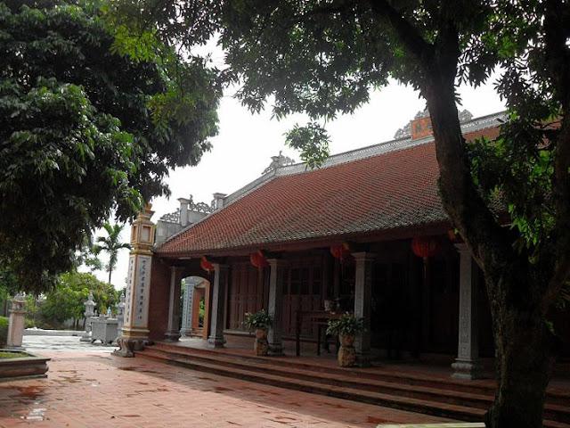 Chùa Phúc Lâm thuộc địa phận xã Phú Lâm, huyện Tiên Du, tỉnh Bắc Ninh