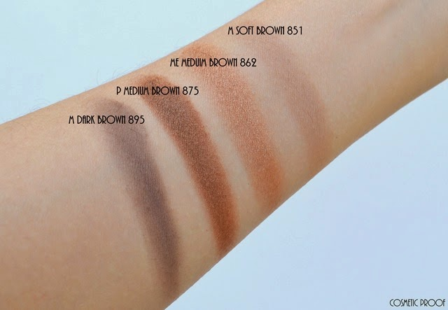 shu uemura 16 shades of nude eyeshadow palette swatches review (7)