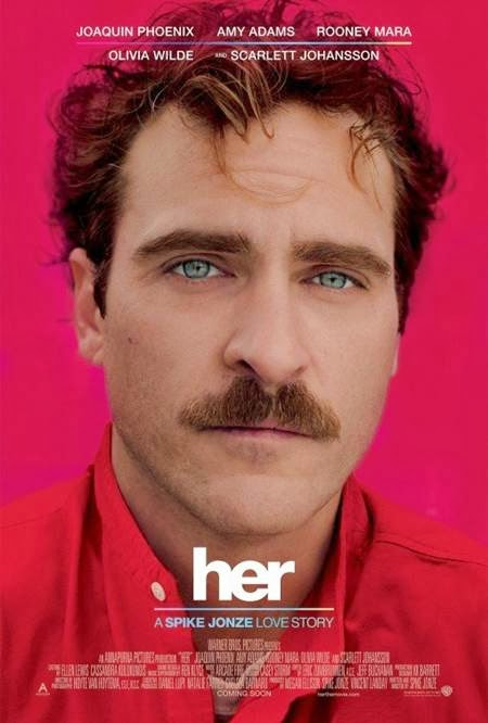 Her promo art, with Joaquin Phoenix, Amy Adams