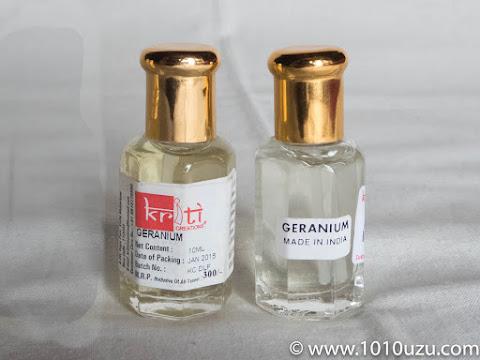 ゼラニウム10 ml