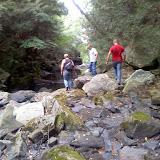 Rachel, Chris and Justin exploring Shohola Falls
