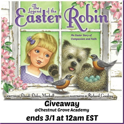 Easter Robin Giveaway
