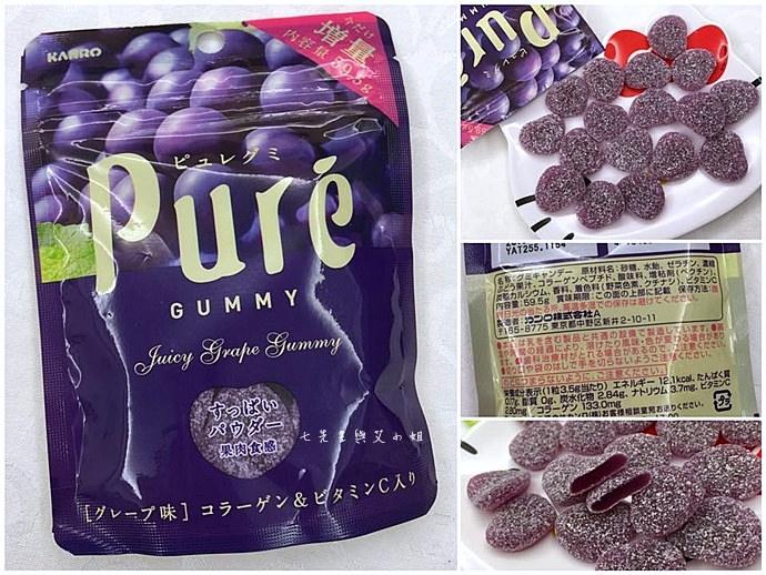 19 日本人氣軟糖推薦 UHA味覺糖 KORORO pure 甘樂鮮果實軟糖