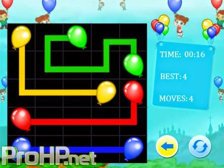 Balloons: Flow Junior v1.1 for BlackBerry