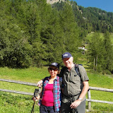 Wanderung Weitenbergalm Pfunders 01.09.15 - Escursione con guida Luis Val di Fundres