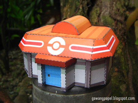 Pokemon Building Paper Model 2