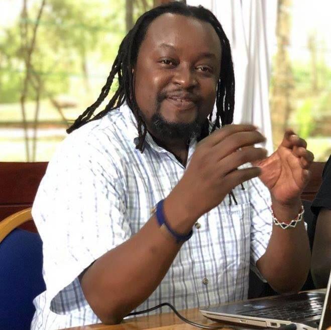Mutemi Wa Kiama photos of his arrest by detectives