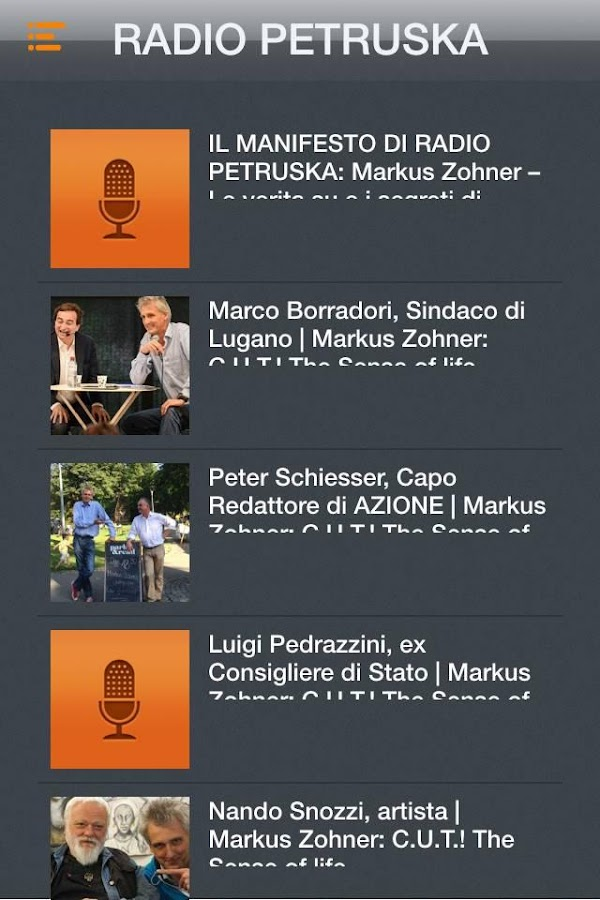 RADIO PETRUSKA- screenshot