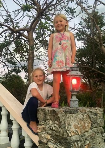 girls at Leeward Yacht Club