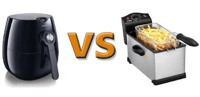 Differenze tra una friggitrice classica ed una ad aria
