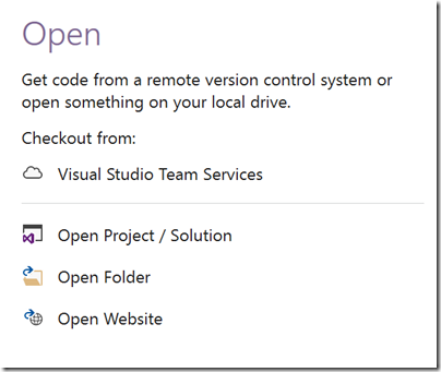 open-project-visual-studio-2017