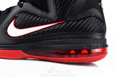 nike lebron 9 gr black white red 2 05 LeBron 9 Quotes James Favorite Movie Gladiator. New Photos.