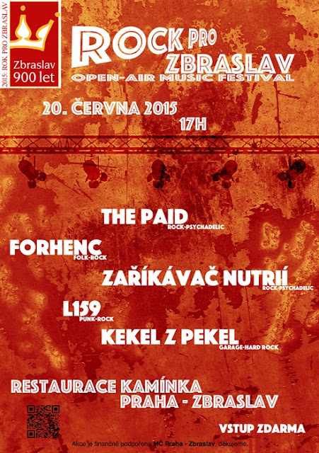 ThE Paid - Live at Rock for Zbraslav open air - 20 Jun 2015