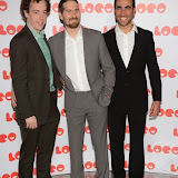 OIC - ENTSIMAGES.COM - Matthew Steel, Brett Goldstein and Jon Drever  at the LOCO Superbob UK film Premiere Q and A at BFI London 24th January 2015 Photo Mobis Photos/OIC 0203 174 1069