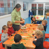 Nursery & Reception prepare their Soup