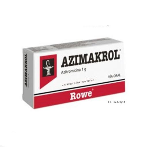 Azitromicina Azimakrol 1gr 2 Comp