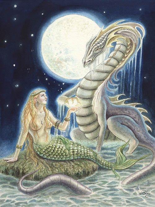 Fantasy Art Friday Mermaid, Undines