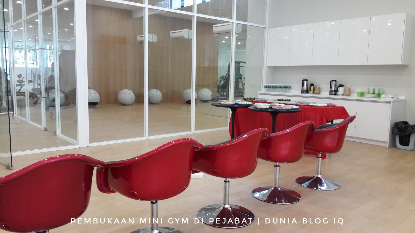Pembukaan Mini Gym Di Pejabat