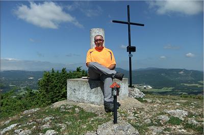 San Kristobal mendiaren gailurra 1.057 m. -  2012ko ekainaren 22an