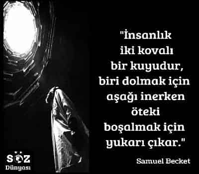 Samuel Becket Sözleri