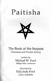 Cover of Michael Ford's Book Paitisha (The Book Of The Serpent)