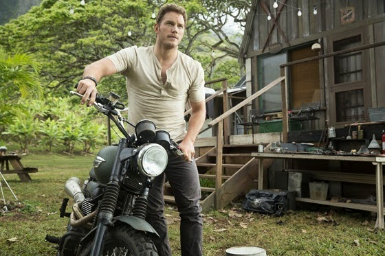 Chris Pratt is Owen Grady