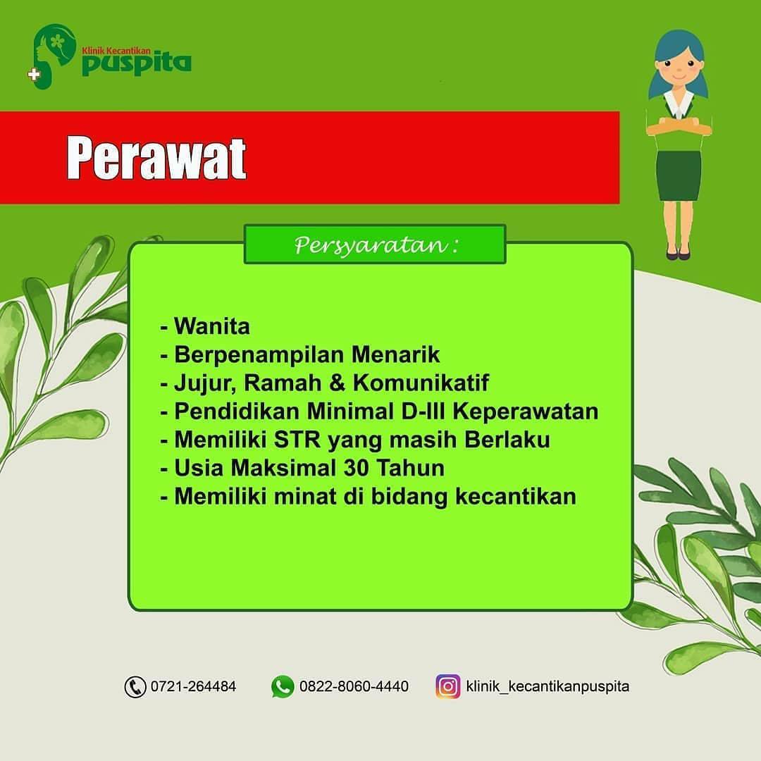 Lowongan Kerja Klinik Kecantikan Puspita September 2020 Karir Bandar Lampung