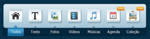 Barra de ferramentas do XPG Blog.