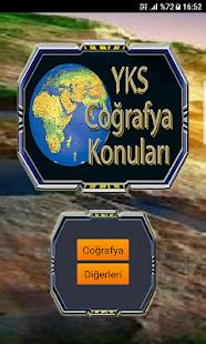 YKS Coğrafya Konuları Detaylı Anlatım - náhled