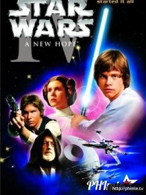 Phim Chiến Tranh Giữa Các Vì Sao (Phần 4): Niềm Hi Vọng Mới - Star Wars: A New Hope (1977)