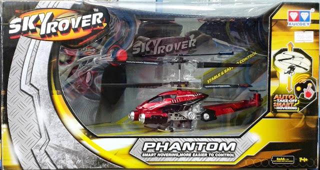Máy bay trực thăng Phantom điều khiển từ xa Skyrover YW858193 dành cho trẻ em trên 14 tuổi