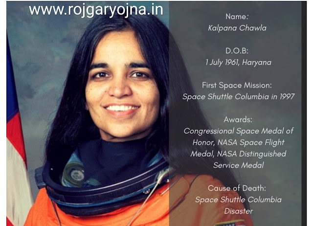 who is Kalpana Chawla