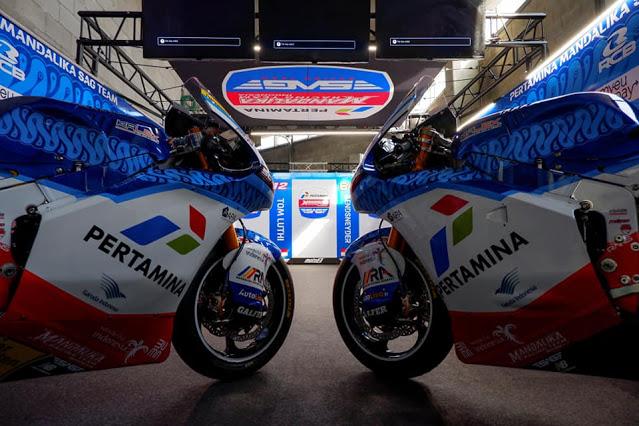 Hasil Moto2 Le Mans Perancis 2021: Pembalap Pertamina Mandalika SAG Finish Di Posisi 5!!!